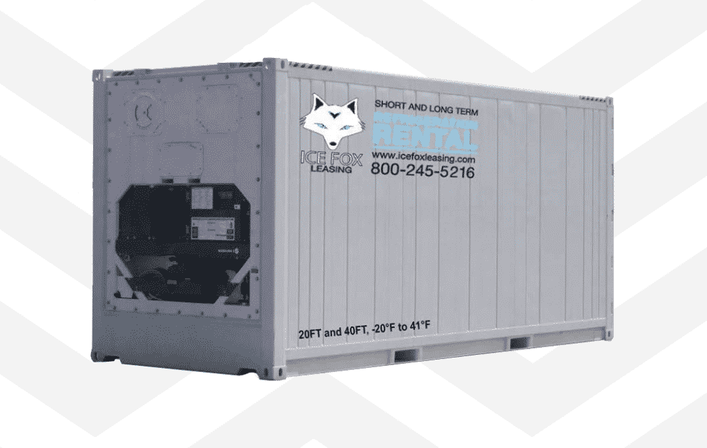 icefox rentals temporary refrigeration for lease monthly